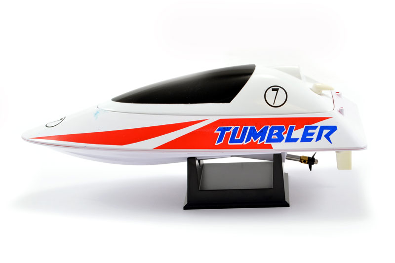 TUMBLER RTR MINI RACING BOAT - RED/WHITE