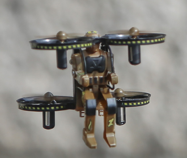 Jet Pack Commander Camo Edition - ready to fly quadcopter set (Camo Brown)
