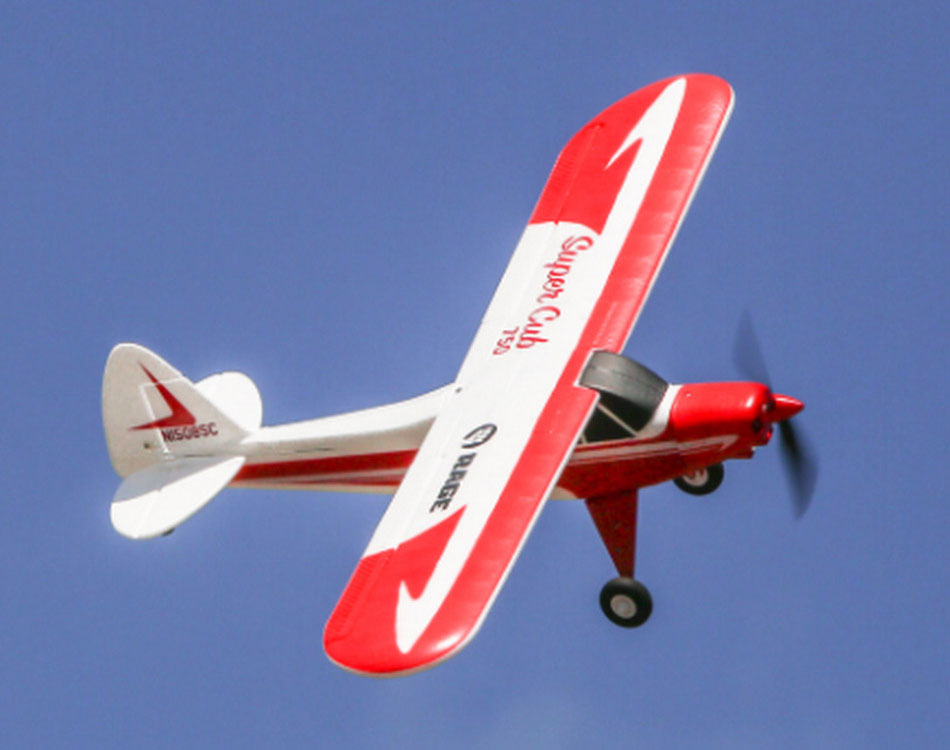 Super Cub 750 4 channel ready to fly aeroplane 75 cm wingspan