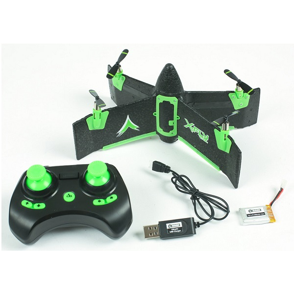 X-FLY VTOL  4 channel ready to fly vertical take off aircraft 22cm width