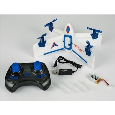 X-FLY V2 VTOL 4 channel ready to fly vertical take off aircraft 22cm width
