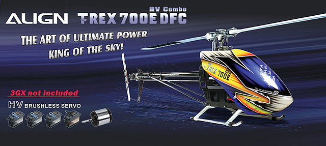 T-Rex 700E Pro DFC HV Super Combo