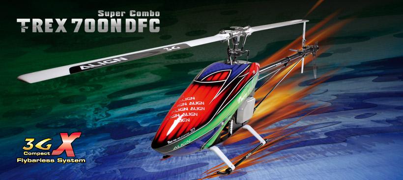 T-Rex 700N DFC Super Combo