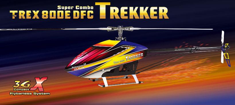 Align T-Rex 800E DFC Trekker Super Combo