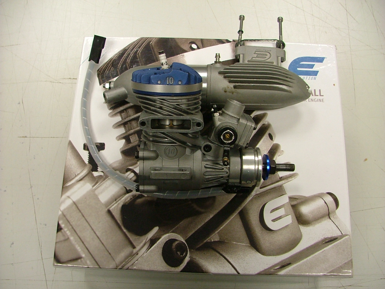 photo of: S/H EVOLUTION 10cc PETROL NEARLY NEW.