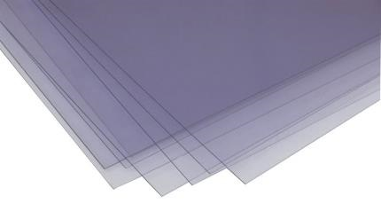 0.005in (0.13mm) Clear Styrene Sheet (pk3)