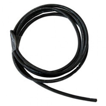 16AWG (1.5mm) Black Silicone Wire 1 Mtr
