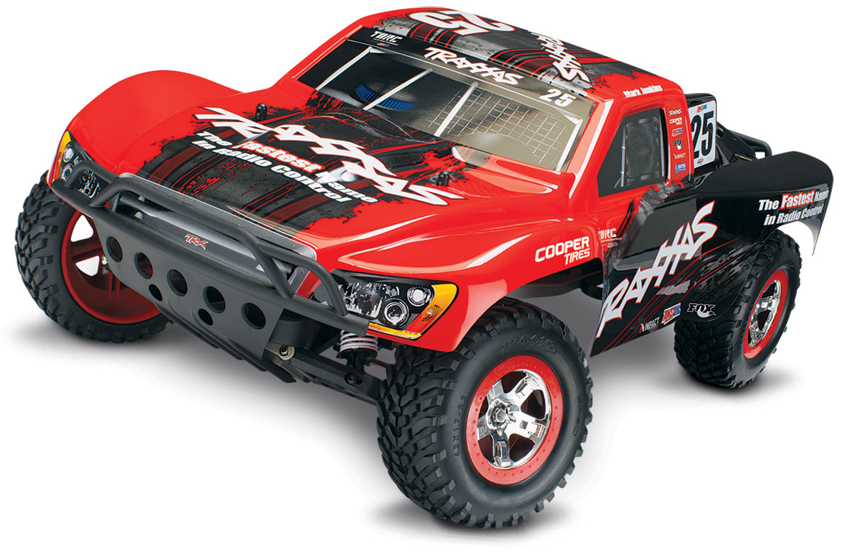 Traxxas Slash VXL Brushless 4WD TSM (TQI/No Batt or Chg) Mark Jenkins Red/Black