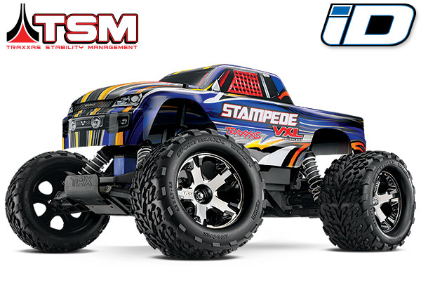 Traxxas Stampede VXL Brushless 2WD TSM (TQi/8.4V/DC Chg)