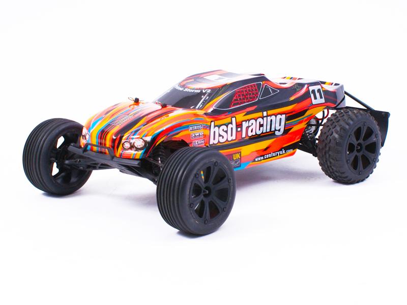 Prime Storm V3 1/10TH Truggy RTR 7.2V NiMh (Orange)