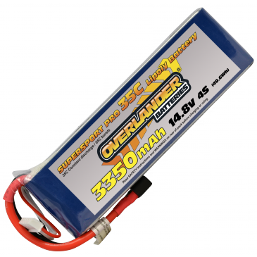 3350mAh 4S 14.8v 35C Supersport Pro