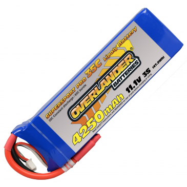 4250mAh 3S 11.1v 35C Supersport