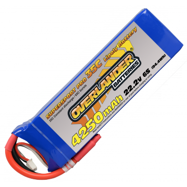 4250mAh 6S 22.2v 35C SUPERSPORT Pro