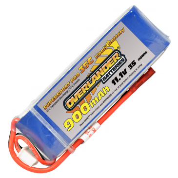 900mAh 3S 11.1v 35C Supersport Pro