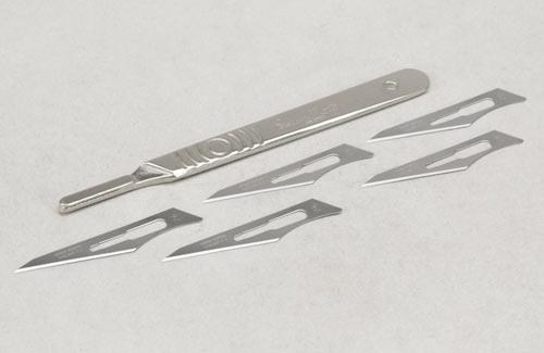Swann-Morton No.4 Scalpel w/No.26 Blade x 5