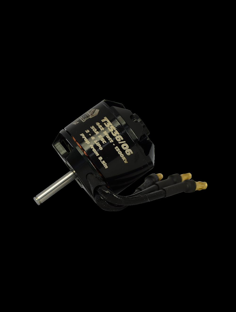 442 Watt 3536/06 1300KV TORNADO THUMPER V3 - BRUSHLESS OUTRUNNER RC MOTOR