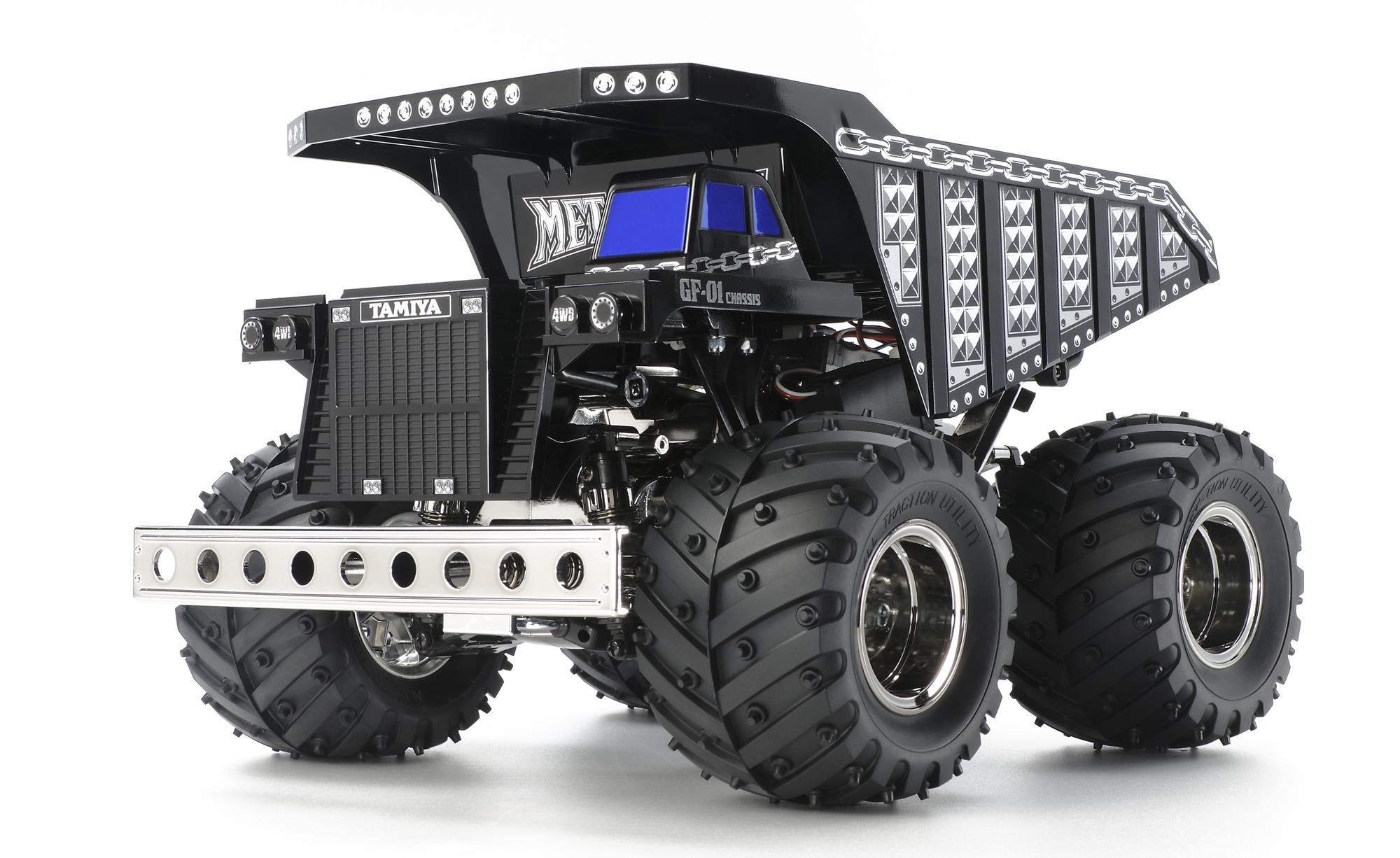 Tamiya Metal Dump Truck 1/24 Inc Tamiya Esc