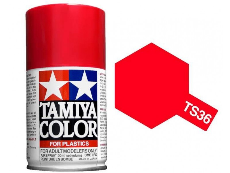Tamiya TS-36 Fluorescent Red