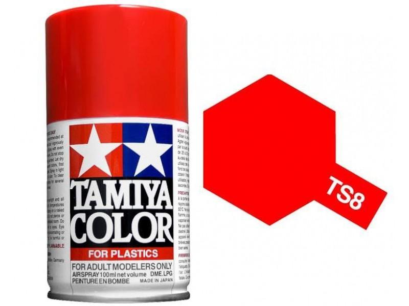 Tamiya TS-8 Italian Red