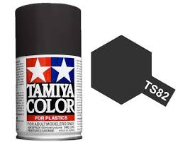 Tamiya TS-82 Rubber Black
