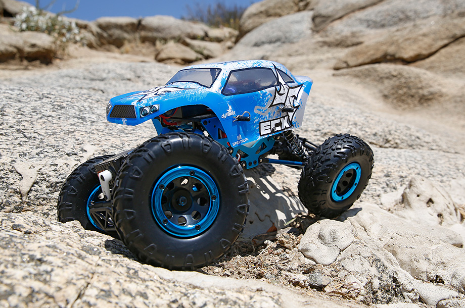 TEMPER 1:18 4WD ROCK CRAWLER BRUSHED RTR INT