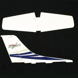 Top Gun Class 400 Cessna Tail Set Blue