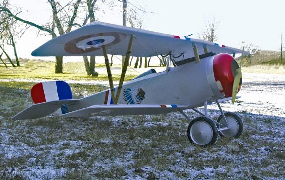 1/3 Scale Nieuport 17
