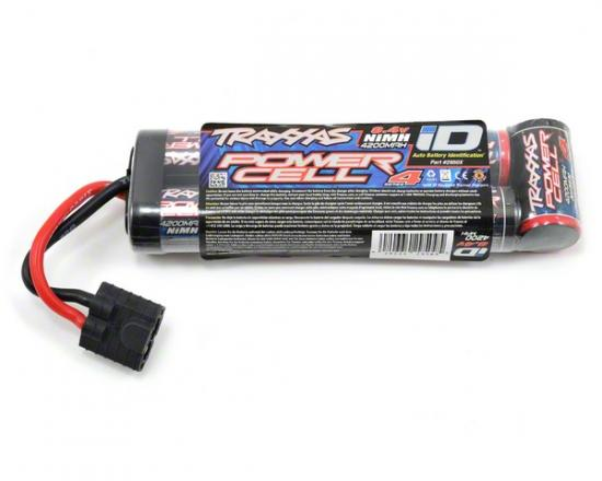 TRAXXAS Battery, Series 4 Power Cell ID, 4200mAh (NiMH, 8.4V flat) O-TRX2950X