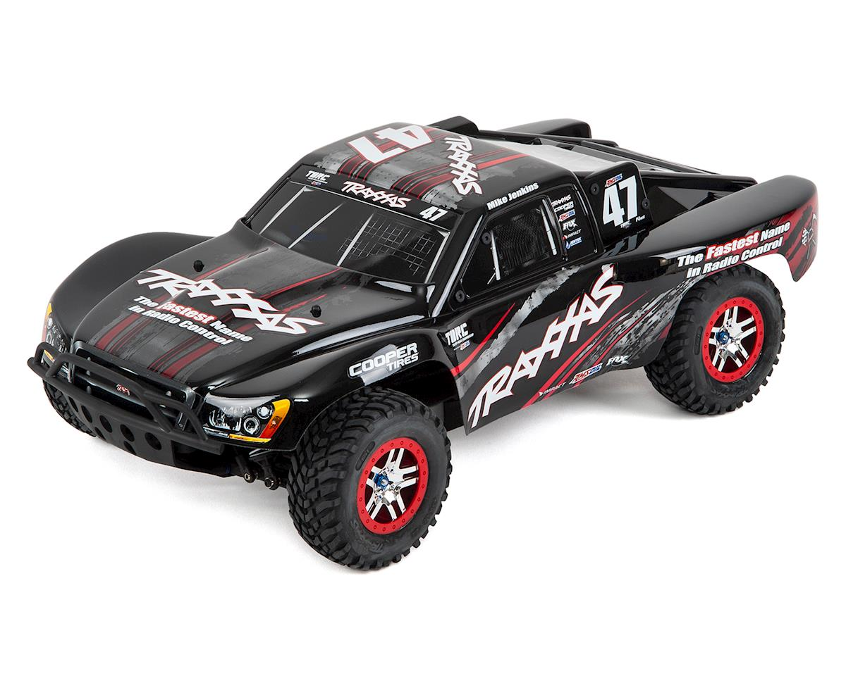 Traxxas Slash XL-5 1/10 2WD (TQ/8.4V/DC Chg) Black/Red RTR Mike Jenkins
