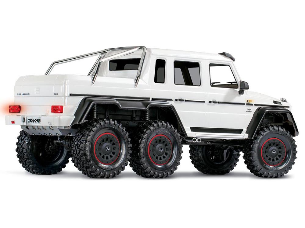 Traxxas TRX-6 Mercedes-Benz G 63 AMG 1:10 6X6 RTR Metallic White