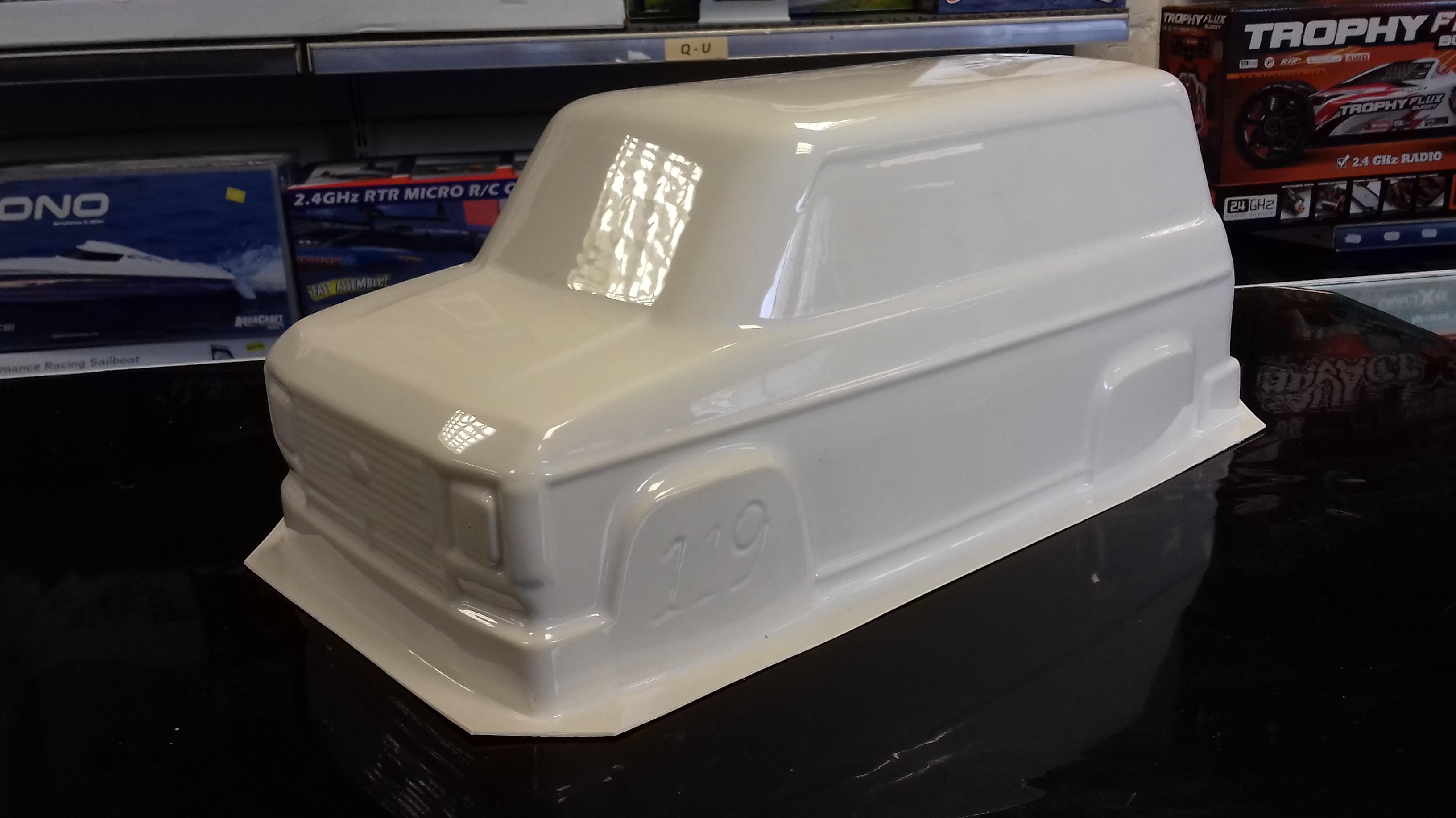 Kamtec Transit Mk2 Swb Van Body Shell