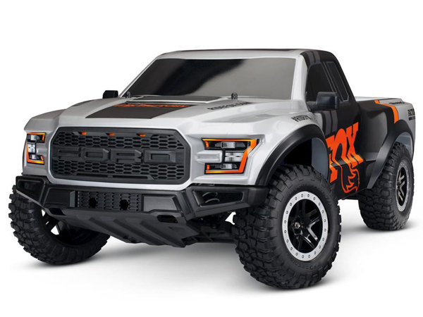 Traxxas Ford F-150 Raptor Fox 1:10 2WD RTR (+ TQ, XL-5, 7-Cell NiMH 3000mAh)