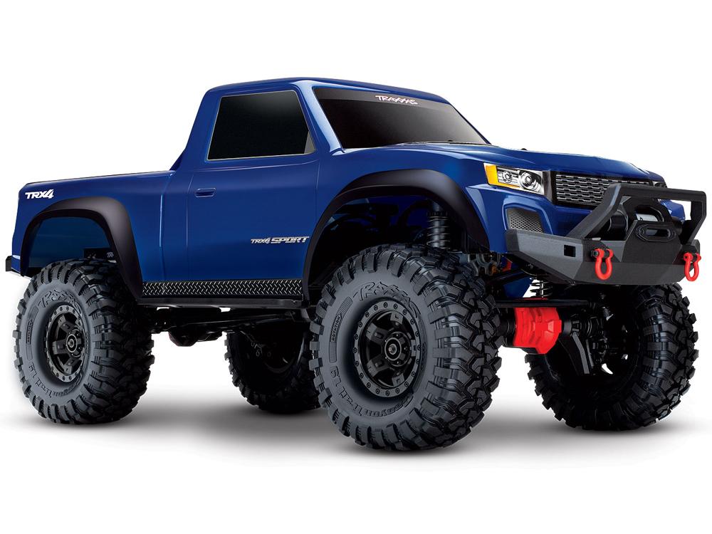 Traxxas TRX-4 Sport Blue 1:10 RTR (+ TQ, XL-5 HV, Titan 550)
