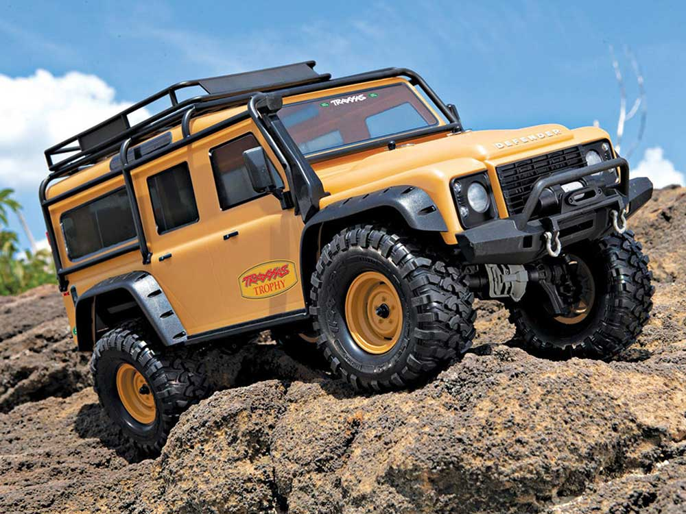 Traxxas TRX-4 Land Rover Defender 110 Tan Edition