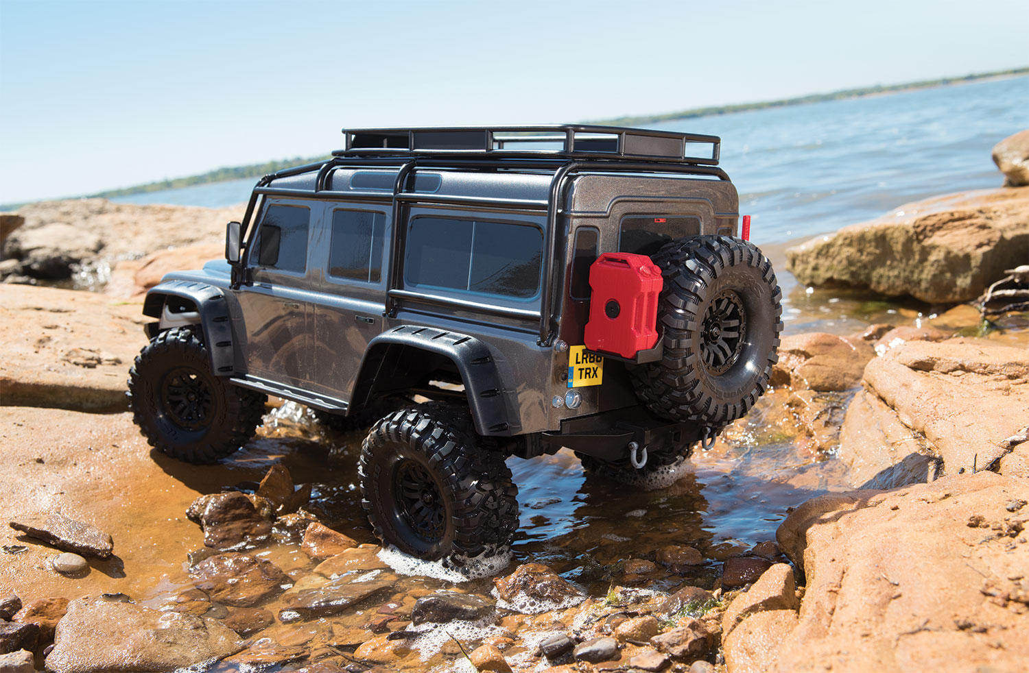 Traxxas TRX-4 Land Rover Defender 110 (Grey)