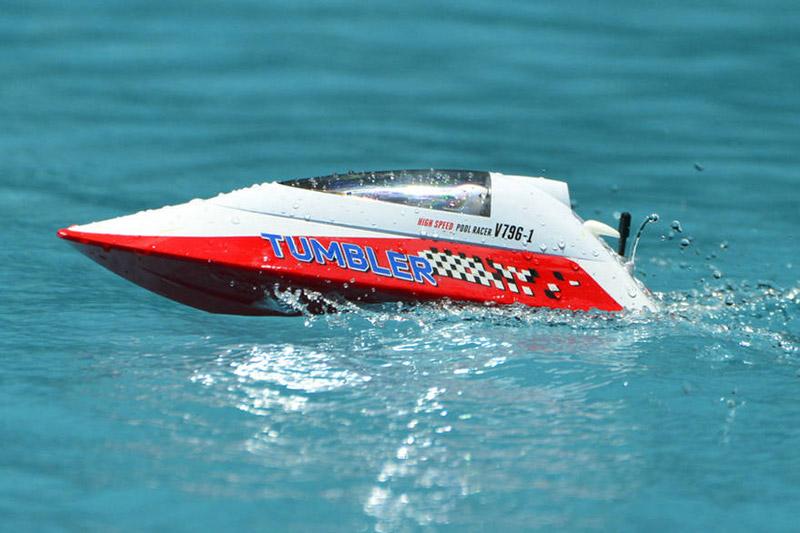 TUMBLER RTR MINI RACING BOAT - RED