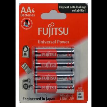 Fujitsu AA Alkaline Blister Pack Universal Series