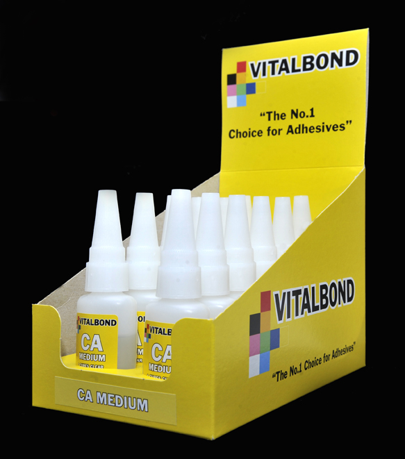 Vitalbond Super glue - Medium 20g Bottle
