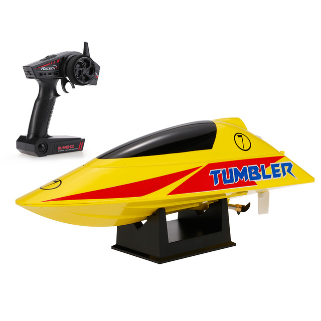 TUMBLER RTR MINI RACING BOAT - YELLOW