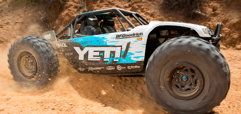 YETI 1/10th Scale Electric 4WD - RTR