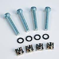 Engine Mounting Bolt Set M4 x 25 (4)