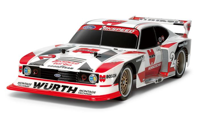 Tamiya Ford Zakspeed Turbo Capri Gr5 Wurth (TT-02) RE Release. (Price TBC) Est 4 Jul