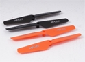 MJX X200 MAIN BLADE SET (ORANGE A AND B, BLACK A AND B)